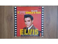Elvis:It Happened At The Worlds Fair album vinyl lp.INTS 5033
