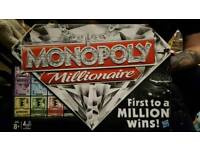 Monopoly millionaire board game by hasbro