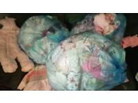 Baby bundle girls clothes, car seat, pram,bouncer