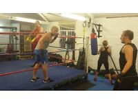 Boxing training , 1to 1 or small groups