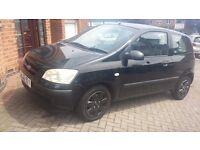 QUICK SALE hyundai getz 1.1..2003..80000miles only.11 month mot..perfect in out..drives 110%..lovely