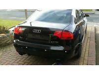 Audi a4 b7 boot in black