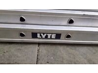 LYTE Triple Section Rope Operated Extension Ladder