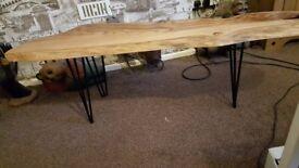 Tree wood coffee/side table
