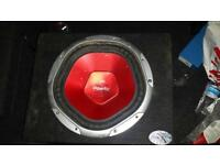 Sub for sale with original kenwood amp