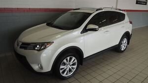 2013 Toyota RAV4 LIMITED AWD CUIR-TOIT OUVRANT-NAVIGATION