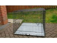 Metal Car/Home Dog Cage