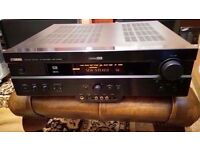 YAMAHA DSP-AX620 6 CHANNEL DOLBY DTS HOME CINEMA AV AMPLIFIER & REMOTE