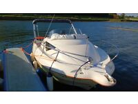 Quicksilver 510 motor boat