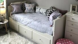 IKEA HEMNES day bed pull out double bed