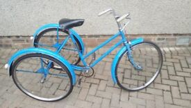 George Fitt - Fitura Tricycle from 1950's Bicycle bike cycle