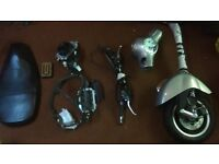 Vespa GTS 300 Parts.. Forks. Brake Levers. Callipers. Headlight. Cooling System, Speedo. panel