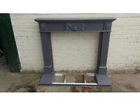 GRAPHITE COLOUR FIRE SURROUND