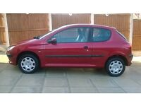 peugeot 206 automatic spares and repairs as over heats fast and has a leak
