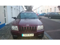Jeep Grand Cherokee LPG CONVERSION LOW MILEAGES