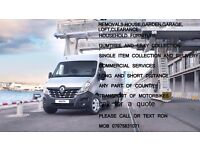 delivery service,removals,house,garden,loft ,garage clearance