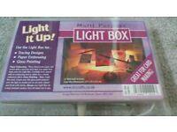 Light It Up Light Box for craft work