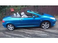 Peugeot 307 CC Sport Coupe Cabriolet 2.0 HDi Diesel (136bhp) Facelift Model