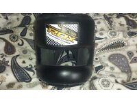 NEW RDX ZERO IMPACT LEATHER BAR HEAD GUARD