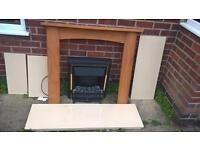 Fireplace electric good condition