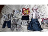 Baby girl clothes 3-6 months, disney, h&m, next, mothercare, lilly+sid