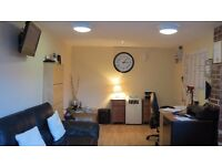 Large office to let in quiet village .within a secure alarmed building .WIFI,a/c,heater,cctv monitor
