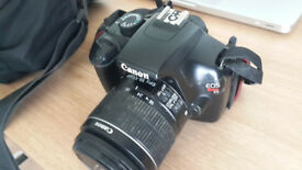 Rarely used Canon eos 1100d dslr camera