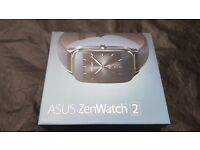 Asus zenwatch 2, androidwear 2.0 ready, excellent condition (see descrip) boxed with all accessories