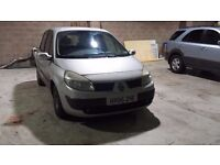Renault Scenic Expression 1.6 Petrol 2005 model - £595 ono