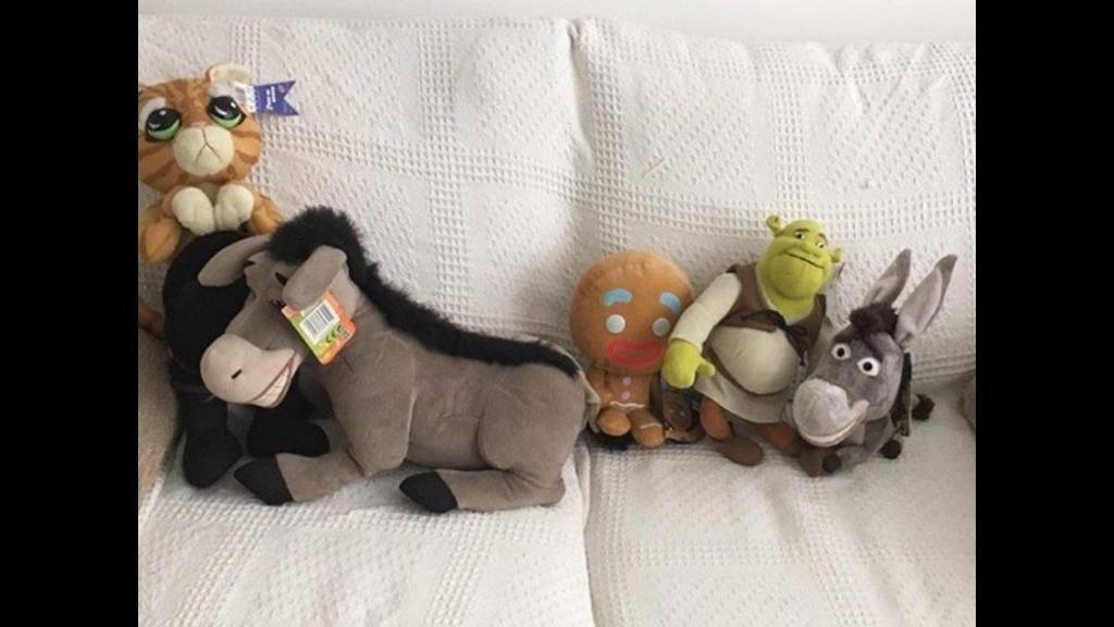 Shrek Cuddly Toys (with tags)