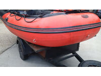 Boat Inflatable Prowave 4.2m Inflatable Sib (Not RIB)