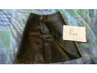 Genuine vintage leather skirts £25 each