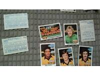 Job lot of panini football cards
