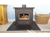 Multifuel Boiler Stove 20kw Arrow Stratford TF70B available end of April / early May 2017