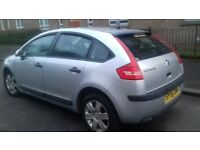 DIESEL 1.6 CITROEN C4 MANUAL 2006 FULL YEAR MOT EXCELENT CONDITION