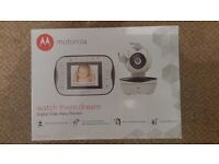 Motorola MBP41s mbp 41s 41 s video baby monitor BRAND NEW remote wireless with receipt (warranty)