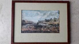 Paris print of Pont Neuf