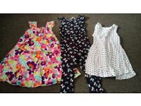 A bundle of girls clothing 3-4