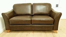 2 Seater Sheldon Leather Sofas (x2)