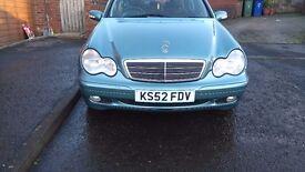 Mercedes C180 Komp Classic SE 52 Plate 4 months MOT Automatic