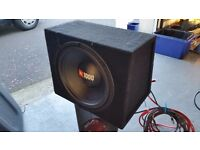 JBL Subwoofer (with Sony Amp and Wiring) - Easy Install