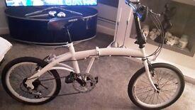 foldable bike 6 shimano gears comes with cycle bag.brand new
