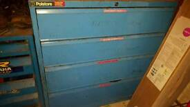 Extremely heavy duty and robust garage drawers