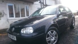 Mk 4 Volkswagen Golf, 1.6L, Mot feb, full service history, spares or repairs