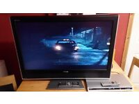 Toshiba 37 inch and DVD player