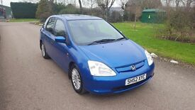 Honda Civic 1.6 i-VTEC Imagine Hatchback 5dr£790 GREAT DRIVE GREAT PRICE 2003 (52 reg), Hatchback