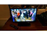 "22"" led tv as new still with box, manual and remote used a few times as spare tv"