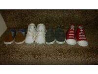 Baby boys shoe bundle 6-12 months.