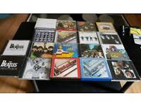 THE BEATLES COMPLETE STUDIO CD ALBUMS (18).SOME STILL SEALED.