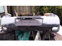 Corsa C Facelift rear smooth bumper